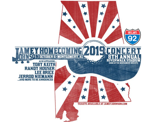 8th Annual Jamey Johnson Homecoming Concert at Montgomery's Riverwalk Stadium