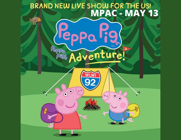 Exclusive: Pre-Sale Code for Peppa Pig's Adventure Tickets