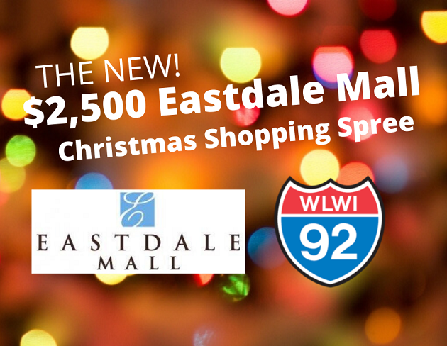 The New $2,500 Eastdale Mall Christmas Shopping Spree!