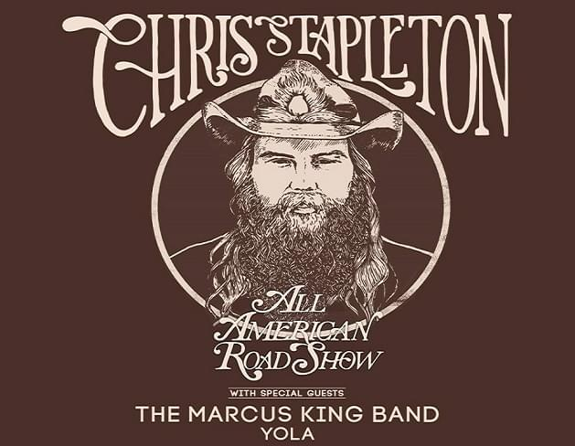Chris Stapleton All American Road Show Headed to Legacy Arena at the BJCC