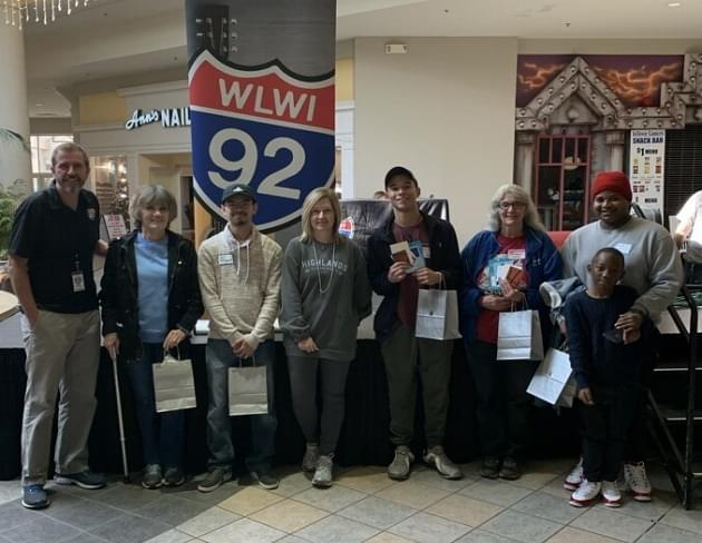 I-92's Eastdale Mall 2019 Christmas Shopping Spree Winners [VIDEO]
