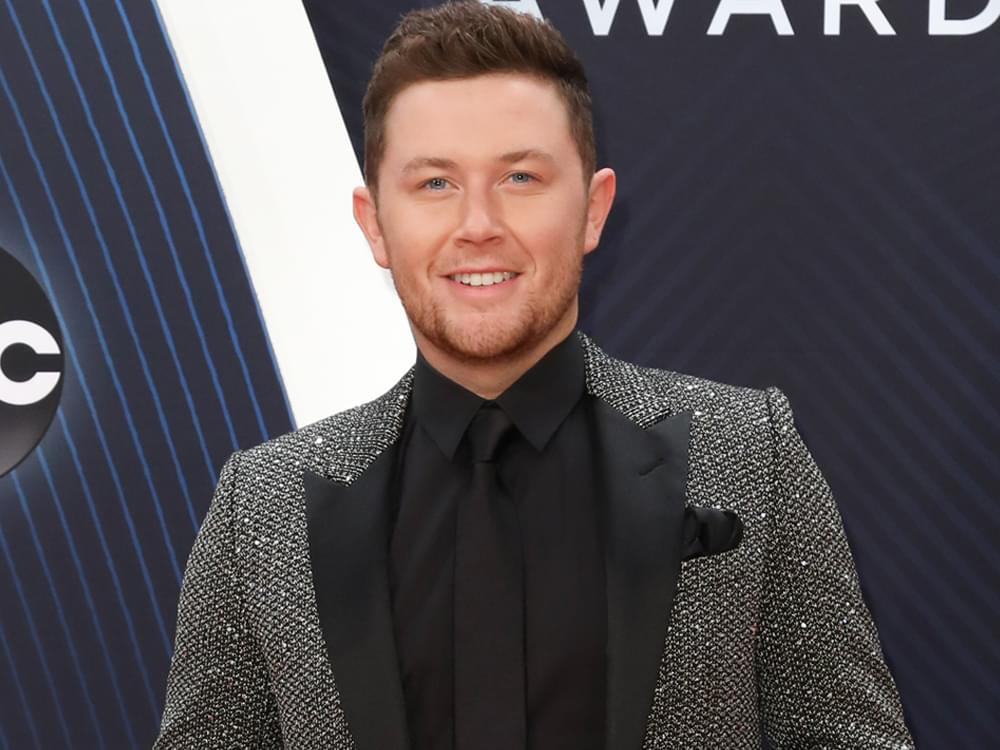 "Scotty McCreery Receives ""Outstanding Achievement Award"" for Service to St. Jude Children's Hospital"