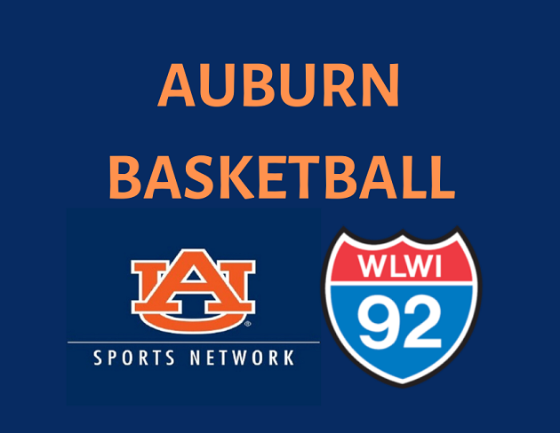 Listen to Auburn Basketball on I-92 WLWI
