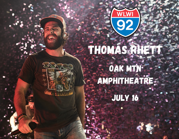 Thomas Rhett at Oak Mountain Amphitheatre