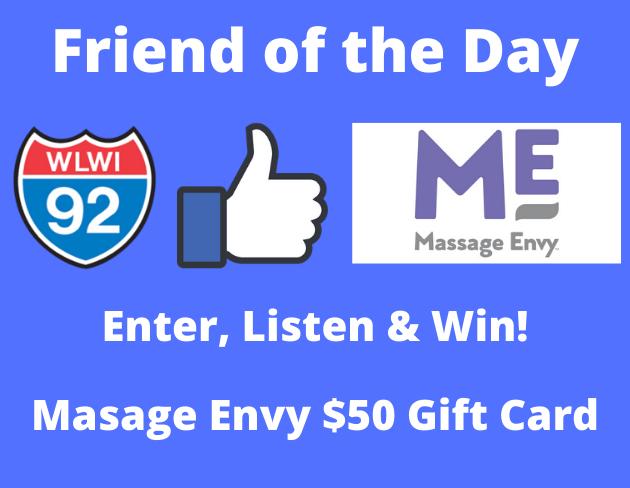 Enter, Listen & Win Massage Envy $50 Gift Card