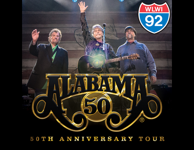 Alabama 50th Anniversary Tour at Oak Mountain Amphitheatre