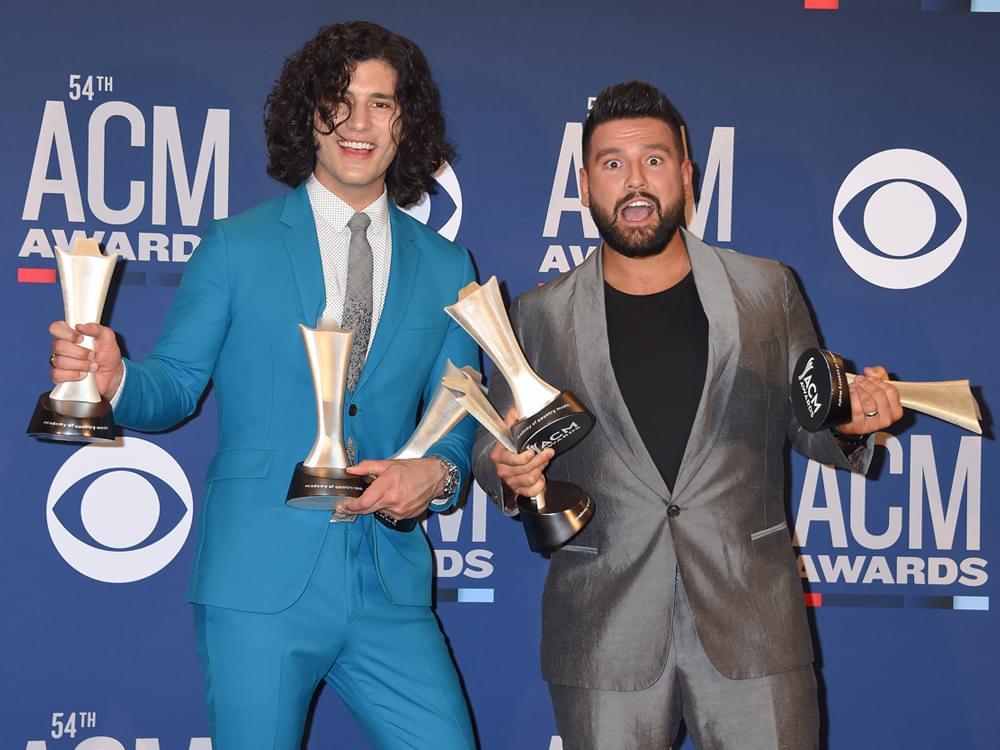 Breakdown–ACM Awards Nominations: Dan Smyers (6), Shay Mooney (5), Maren Morris (5), Thomas Rhett (5) & More