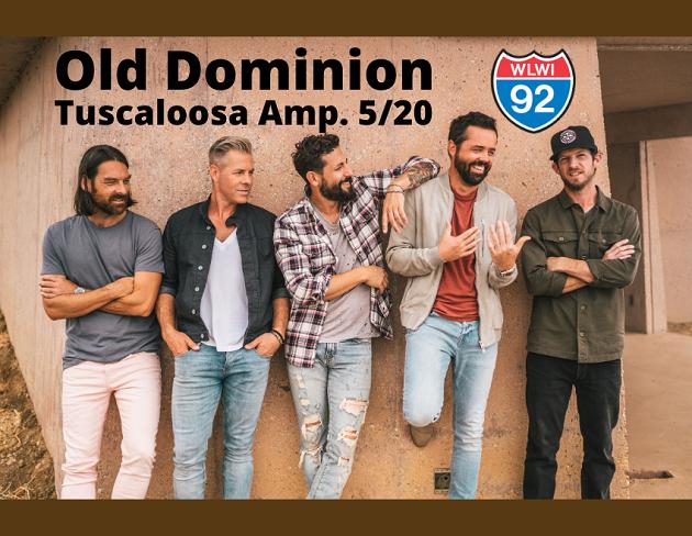 Old Dominion at Tuscaloosa Amphitheater (May 20, 2020)