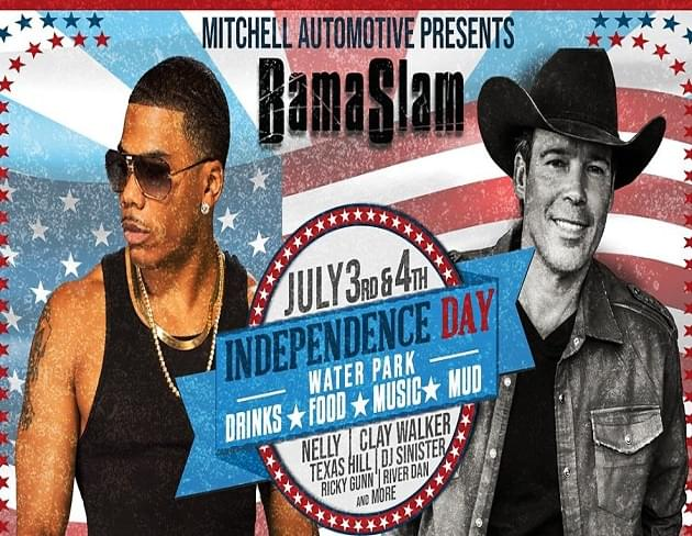 Win a 4-Pack of Tickets to Bama Slam 4th of July Weekend