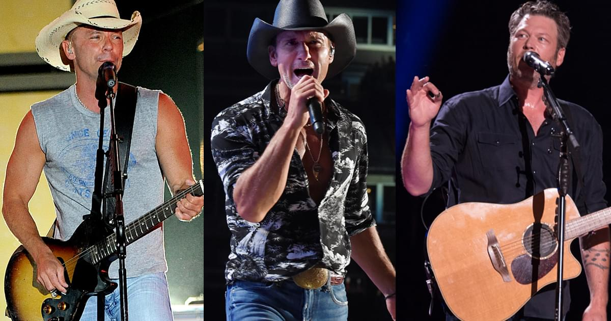 Billboard Country Airplay Chart Sees Movement on All-Time List This Week