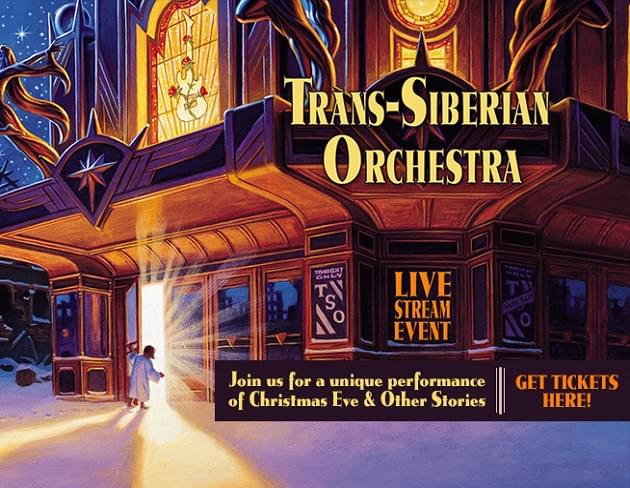 Trans-Siberian Orchestra Live Stream Event [ENTER TO WIN]