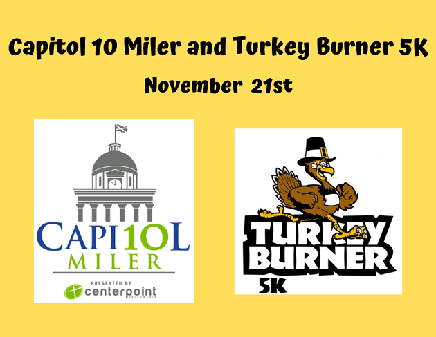 2020 Running of the Capitol 10 Miler and Turkey Burner 5K