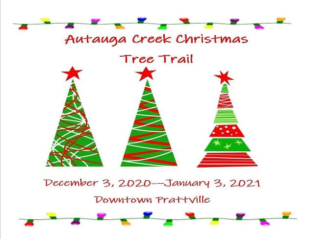 2nd Annual Autauga Creek Christmas Tree Trail in Prattville