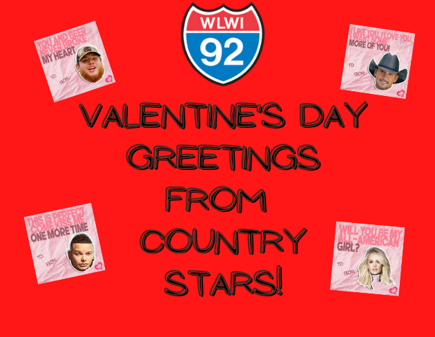 Funny Valentine's Day Greetings from Country Stars
