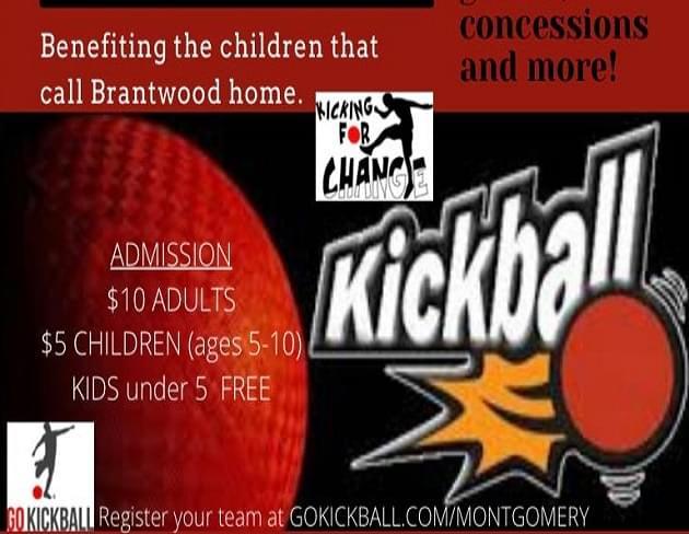 Charity Co-Ed Kickball Tournament at Riverwalk Stadium