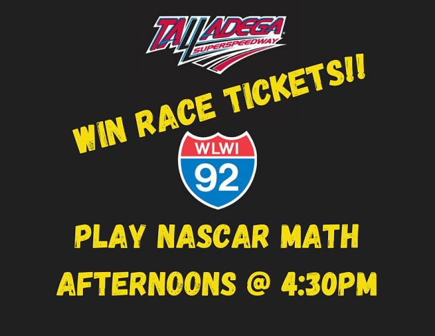 Win Talladega Race Tickets – Play NASCAR Math