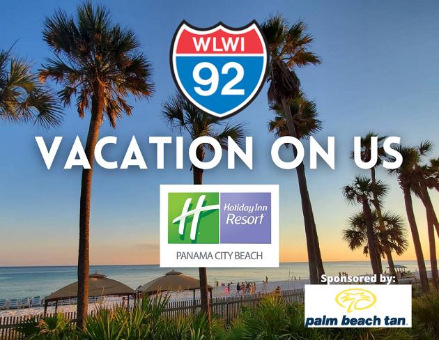 Vacation On Us: Destination Holiday Inn Resort Panama City Beach