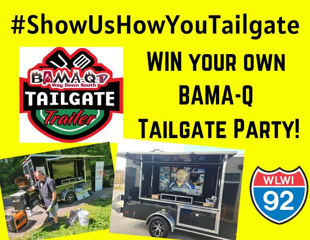 #ShowUsHowYouTailgate to Win a BAMA-Q Tailgate Trailer Party