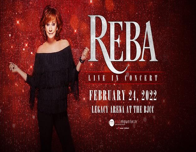 """Reba """"Live in Concert"""" – Legacy Arena at the BJCC"""