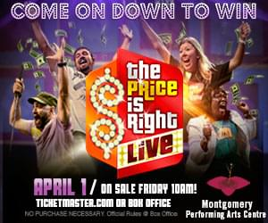 THE PRICE IS RIGHT – APRIL 1ST AT THE MPAC