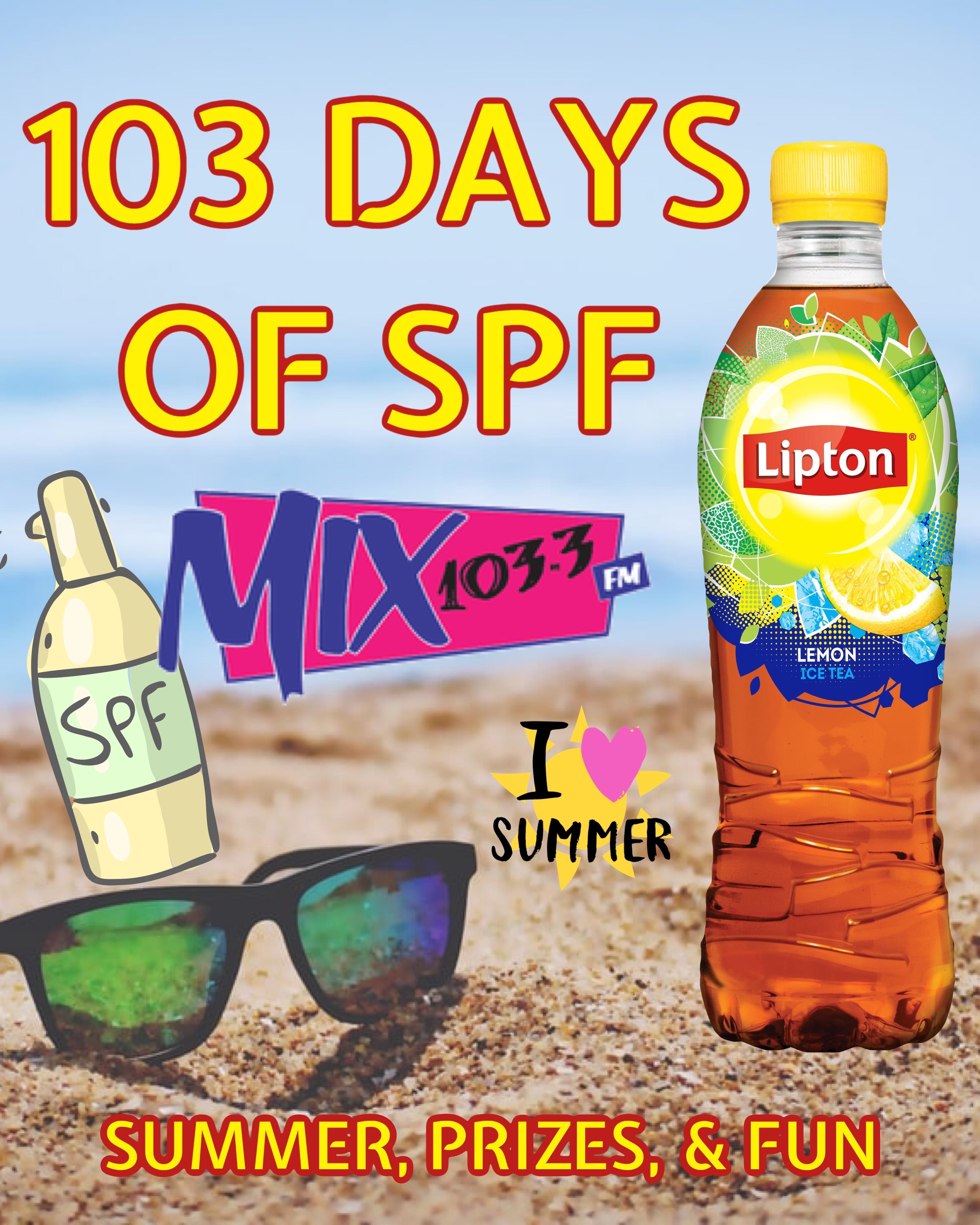 103 Days of SPF with Lipton Tea