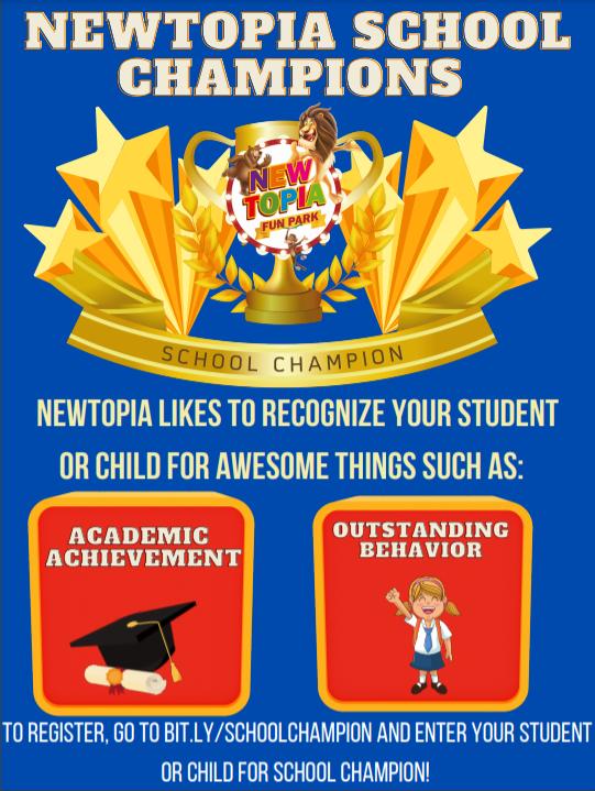 NEWTOPIA SCHOOL CHAMPION PARTY