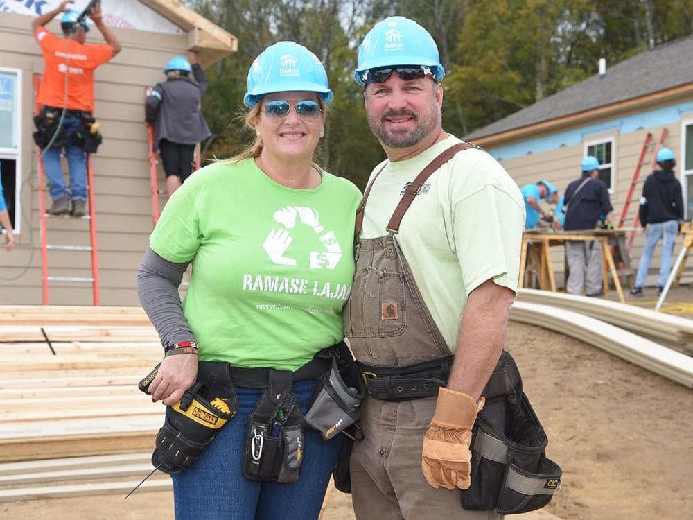 Garth Brooks & Trisha Yearwood Spend the Week Volunteering in Nashville With Habitat for Humanity