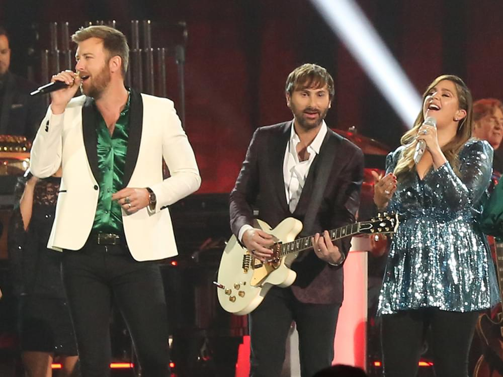 "Lady Antebellum Scores 10th No. 1 Single With ""What If I Never Get Over You"""