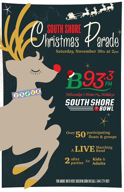 SOUTH SHORE CHRISTMAS PARADE – 11/30