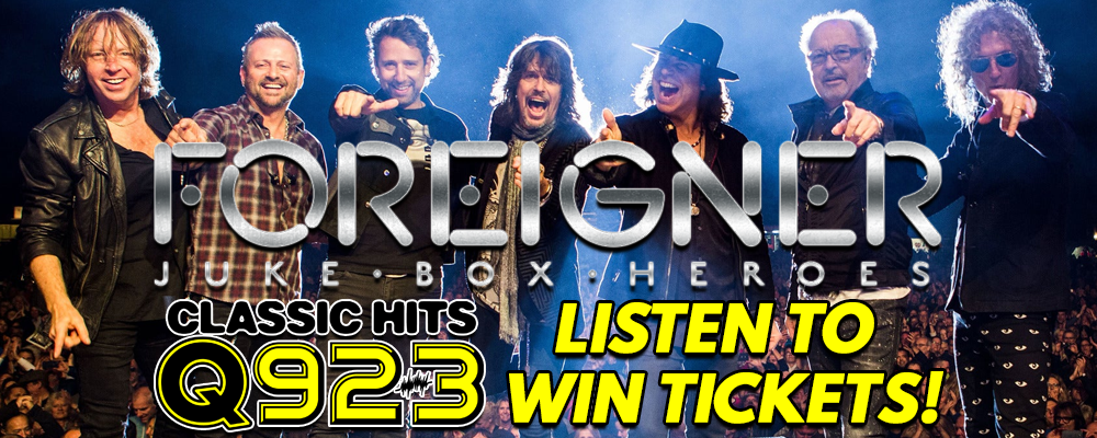 Listen To Win Tickets To See Foreigner!