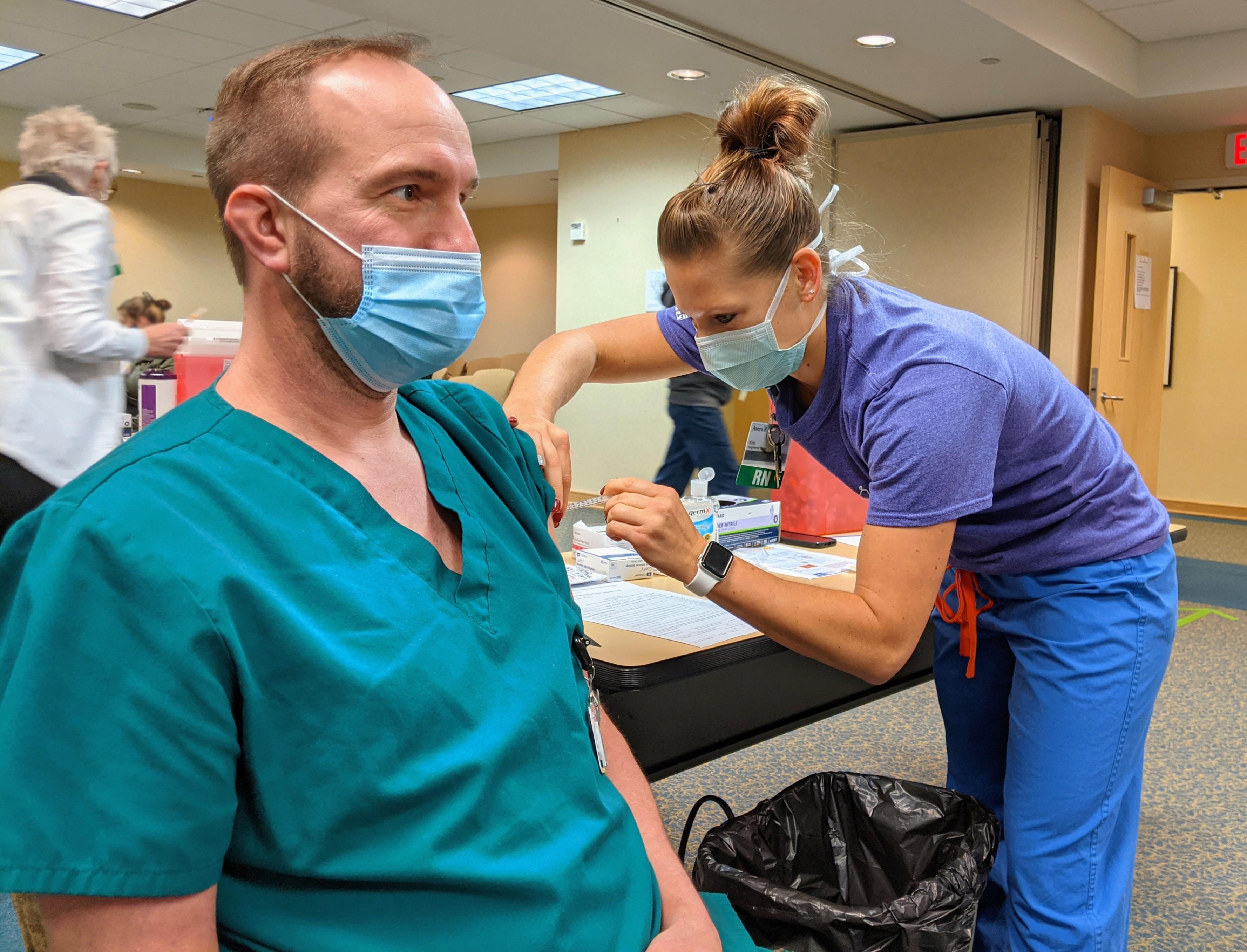 COVID 19 Vaccines Arrive In Yankton
