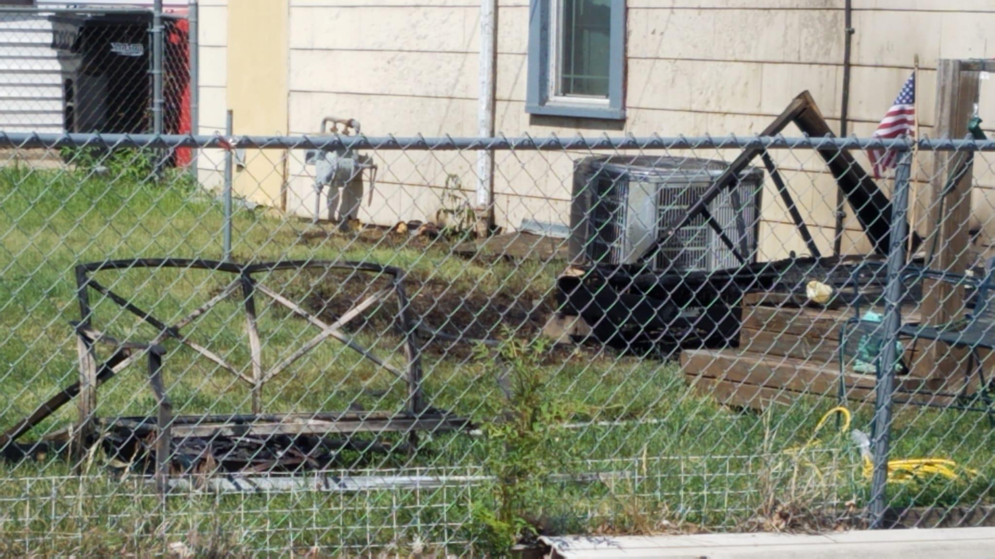 Deck Fire Occurs In Yankton