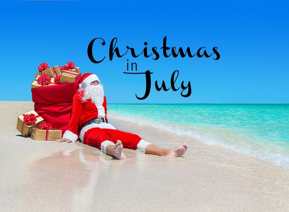Christmas In July Is This Weekend