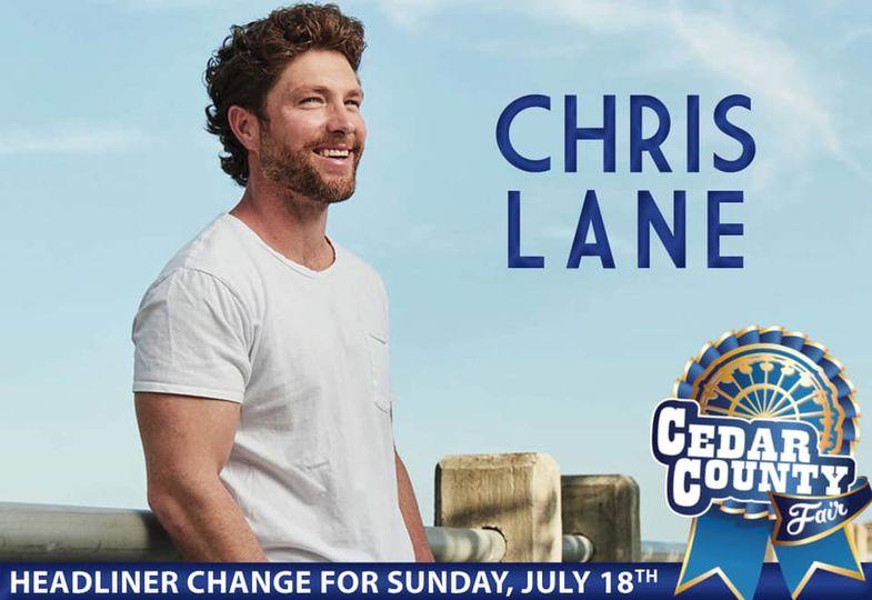 Cedar County Fair Announces Concert Change
