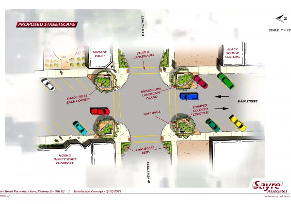 Freeman Preparing For Downtown Improvement Project
