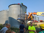Olivet Man Rescued After Becoming Trapped In Grain Bin Monday