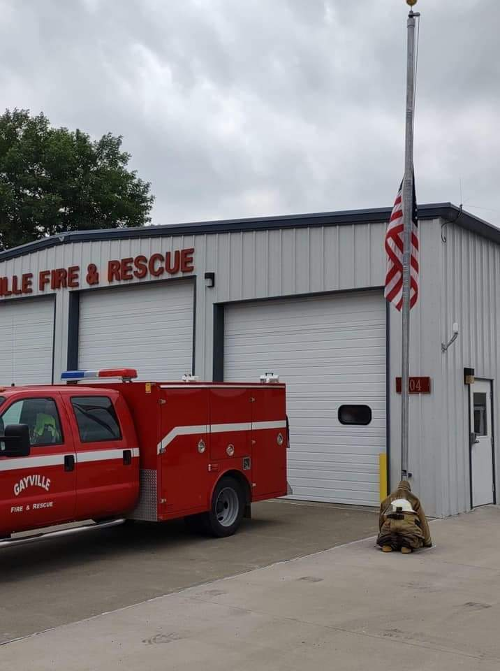 Gayville's Fire Chief Passes Away