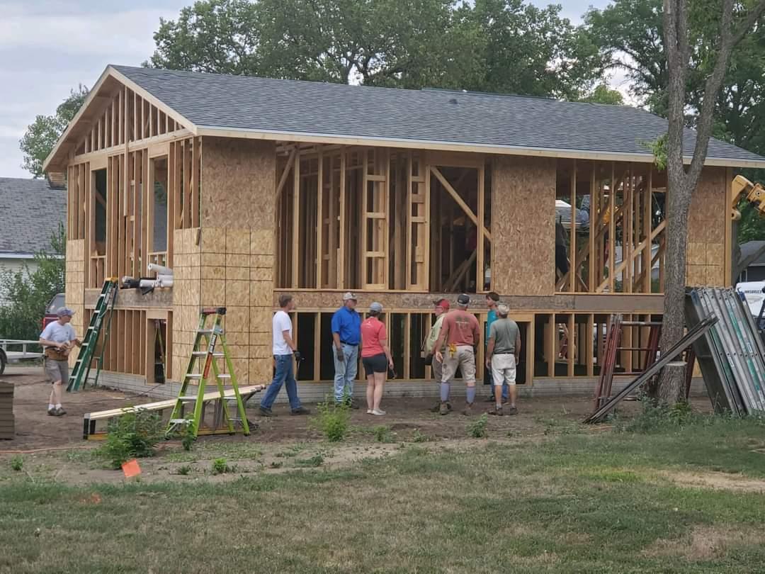 Progress Happening At Latest Habitat Build In Yankton