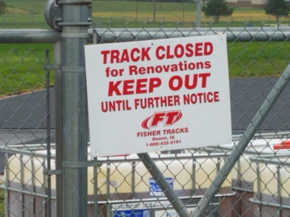 Yankton Track Project Wrapping Up