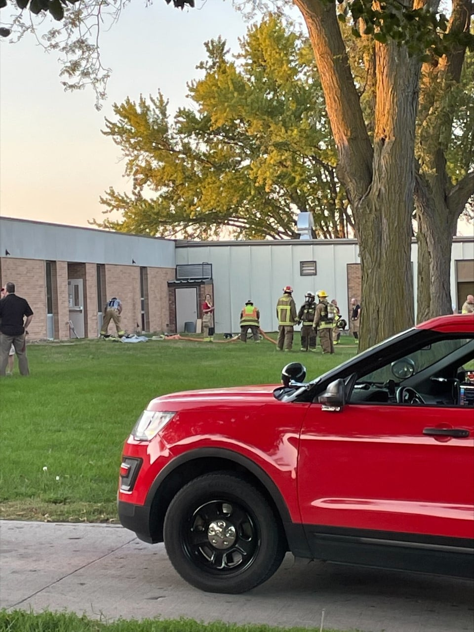 Fire Clean Up Continues At Vermillion High School