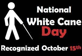 Friday Declared White Cane Safety Day