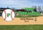 Pierre Baseball Earns Split in Harrisburg Doubleheader