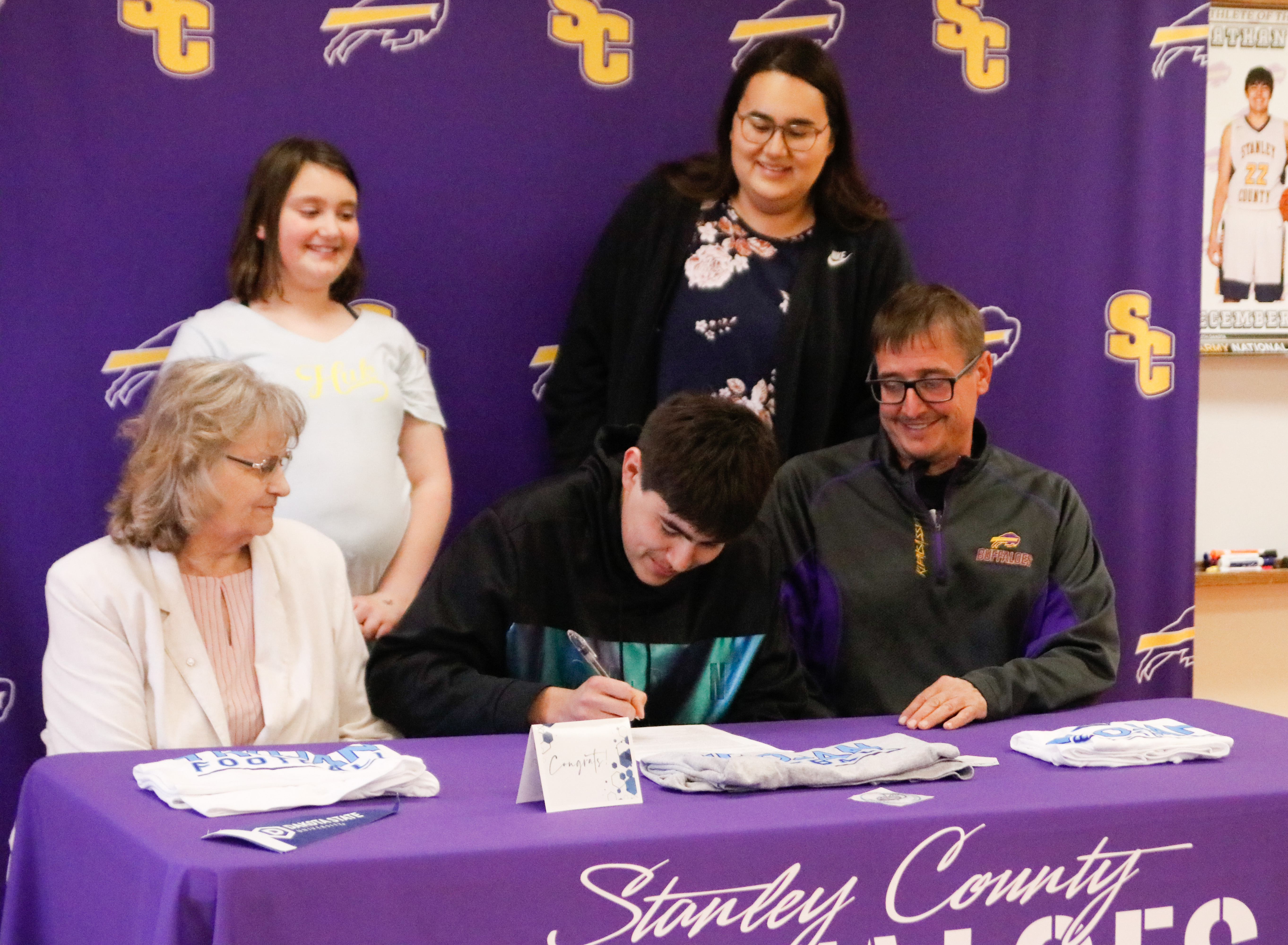Nathan Cook Signs with Dakota State