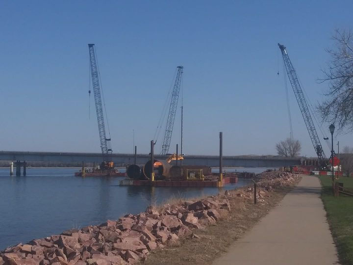 Pierre City Commissioners Get Progress Update On Waldron Bridge Construction