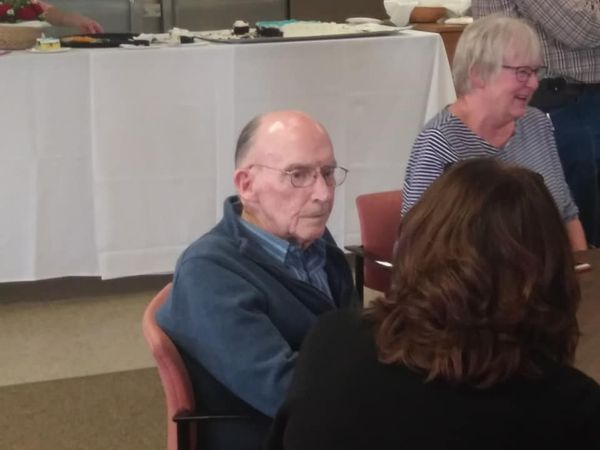 Open House Held To Honor Bob Ricketts On 40 Years Of Service To Fort Pierre