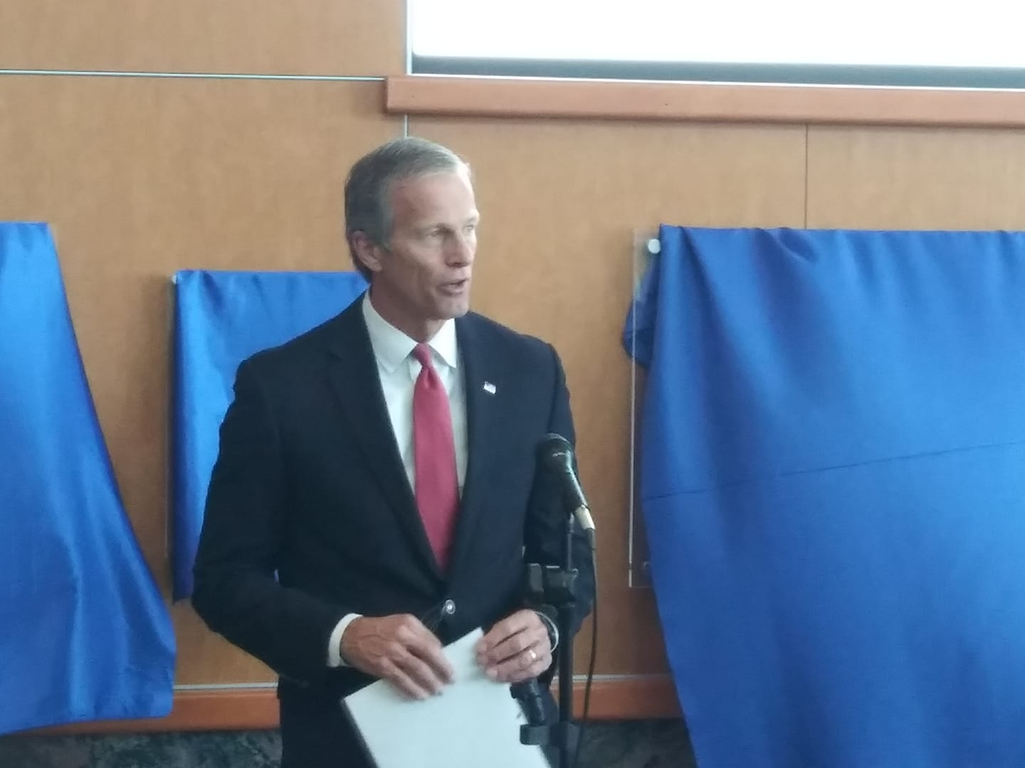 Thune Speaks Out Against Green New Deal