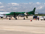 Key Lime Air Pilot Safety Lands After Mid-Air Collision