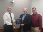 Mehlhaff Receives Community Leader Award For Years Of Commitment To Public Power