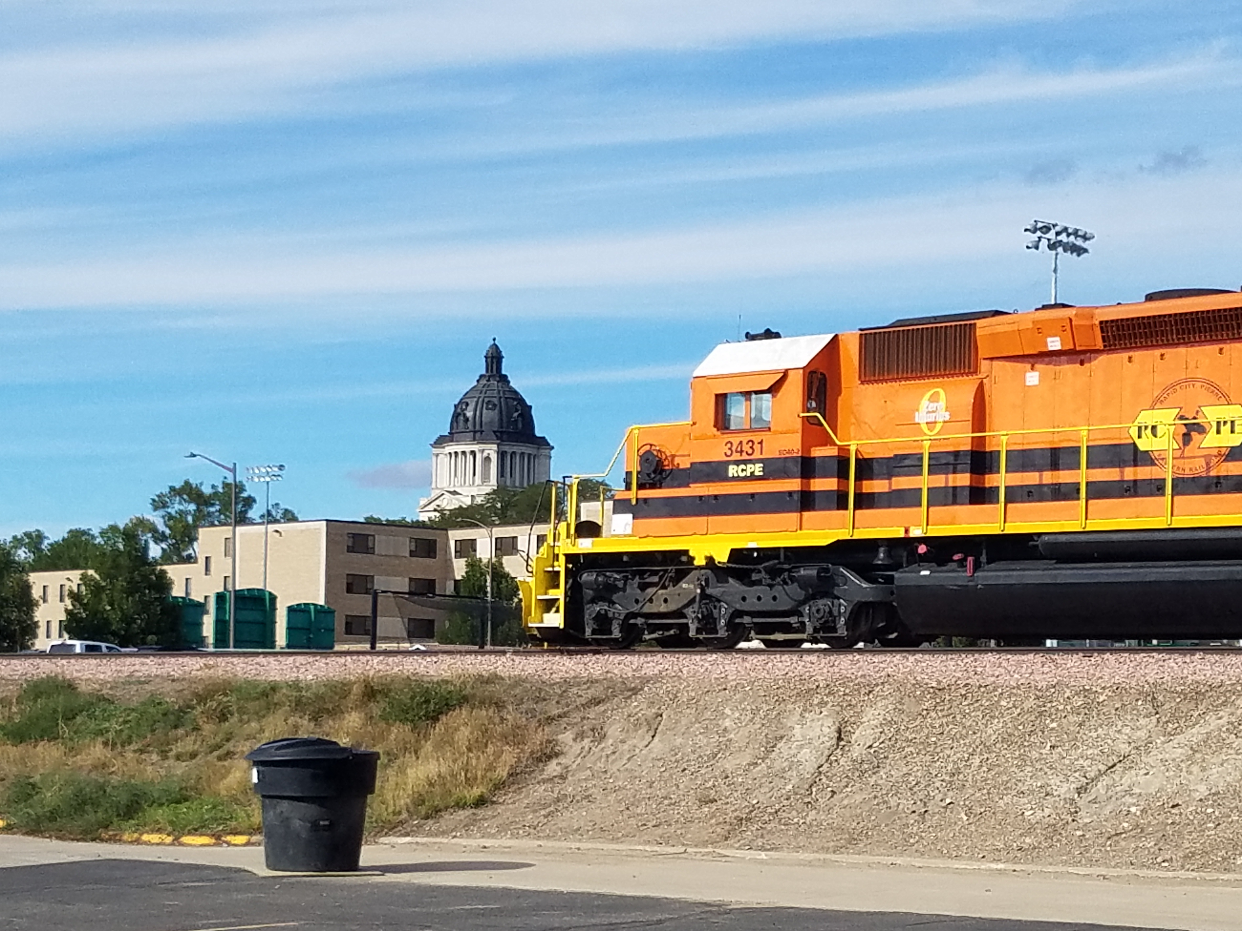 Rapid City, Pierre & Eastern Updates State Rail Board On Grant Status For Fort Pierre To Rapid City Rebuild