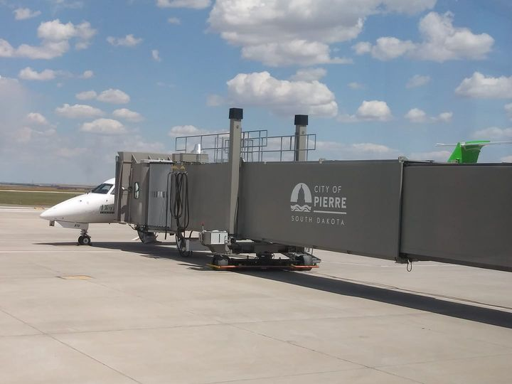 Passengers Pleased With Denver Air Connections First Flights From Pierre